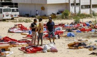 video migranti morti bombardamento centro detenzione libia