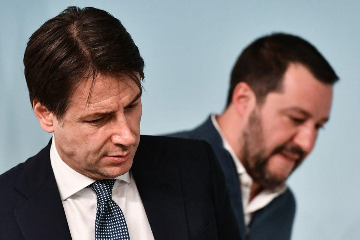 gli italiani non vogliono la crisi, salvini perde punti .
