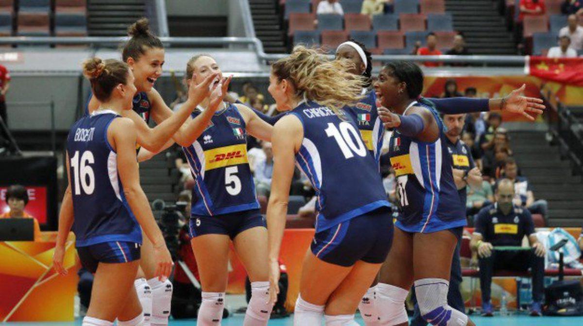 Calendario Mondiali Pallavolo Femminile.Italia Belgio Volley Femminile Streaming E Diretta Tv Dove