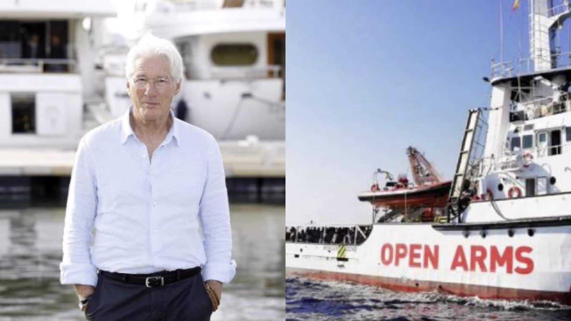 Lampedusa, arriva Richard Gere