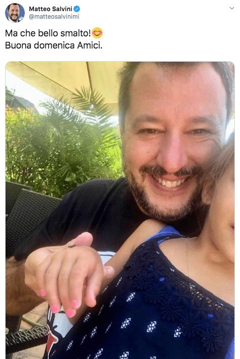 Salvini twitter