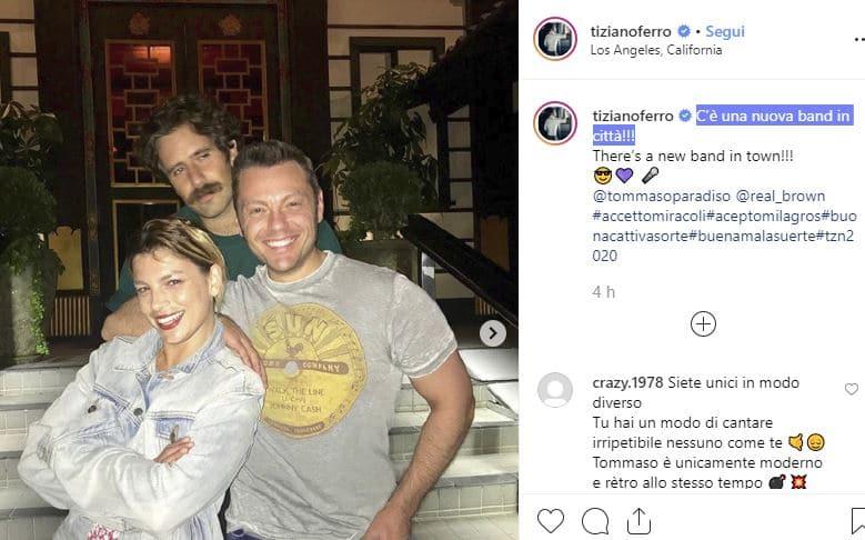 Emma Marrone, Tiziano Ferro e Tommaso Paradiso: cosa fanno insieme?