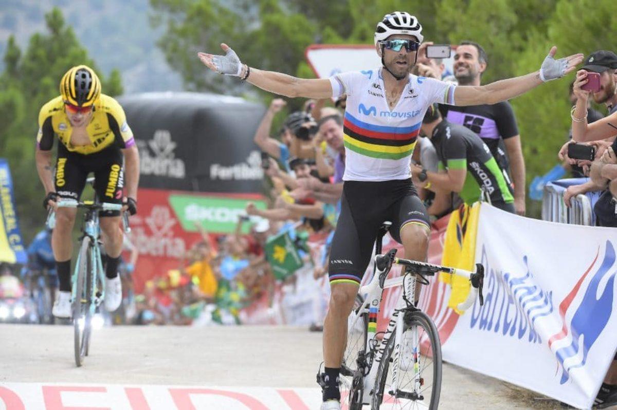 Vuelta:a Jakobsen 4/a tappa,Roche leader