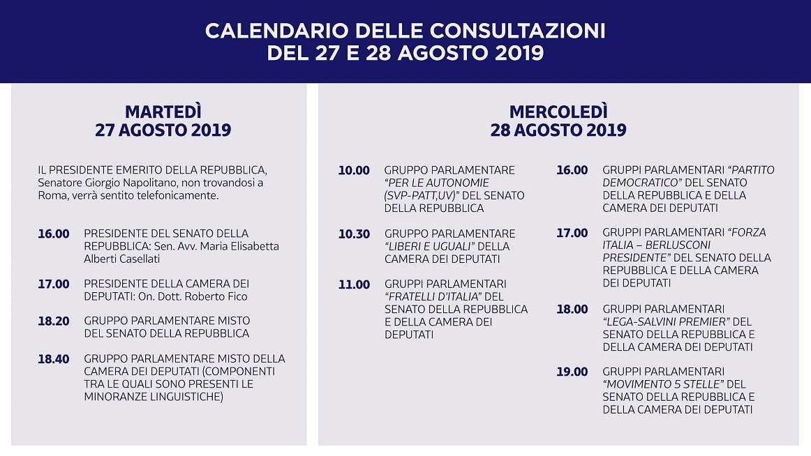 consultazioni calendario