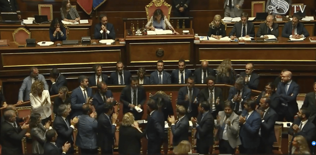 Conte e il voto di sfiducia la diretta live sulla crisi for Senato della repubblica diretta