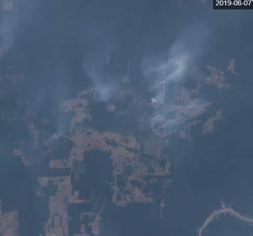 Numero allarmante di incendi sta distruggendo la foresta Amazzonica del Brasile