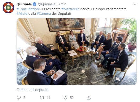 Consultazioni governo le ultime news in diretta live for Diretta dalla camera dei deputati