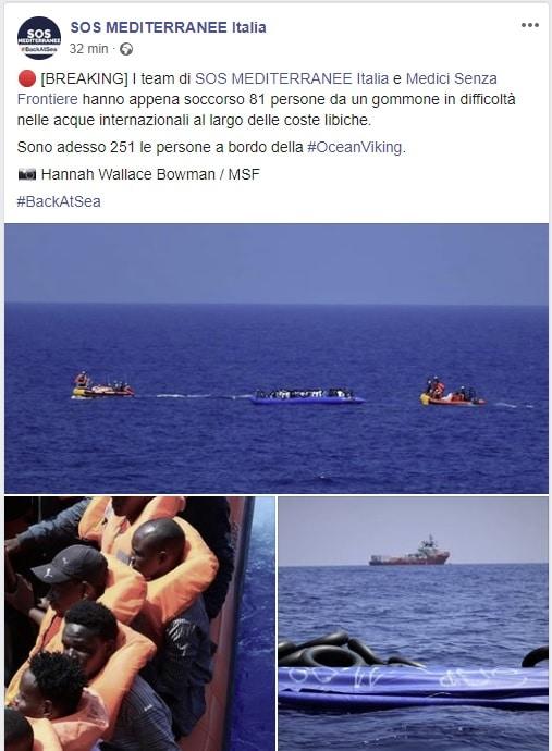 migranti salvati libia