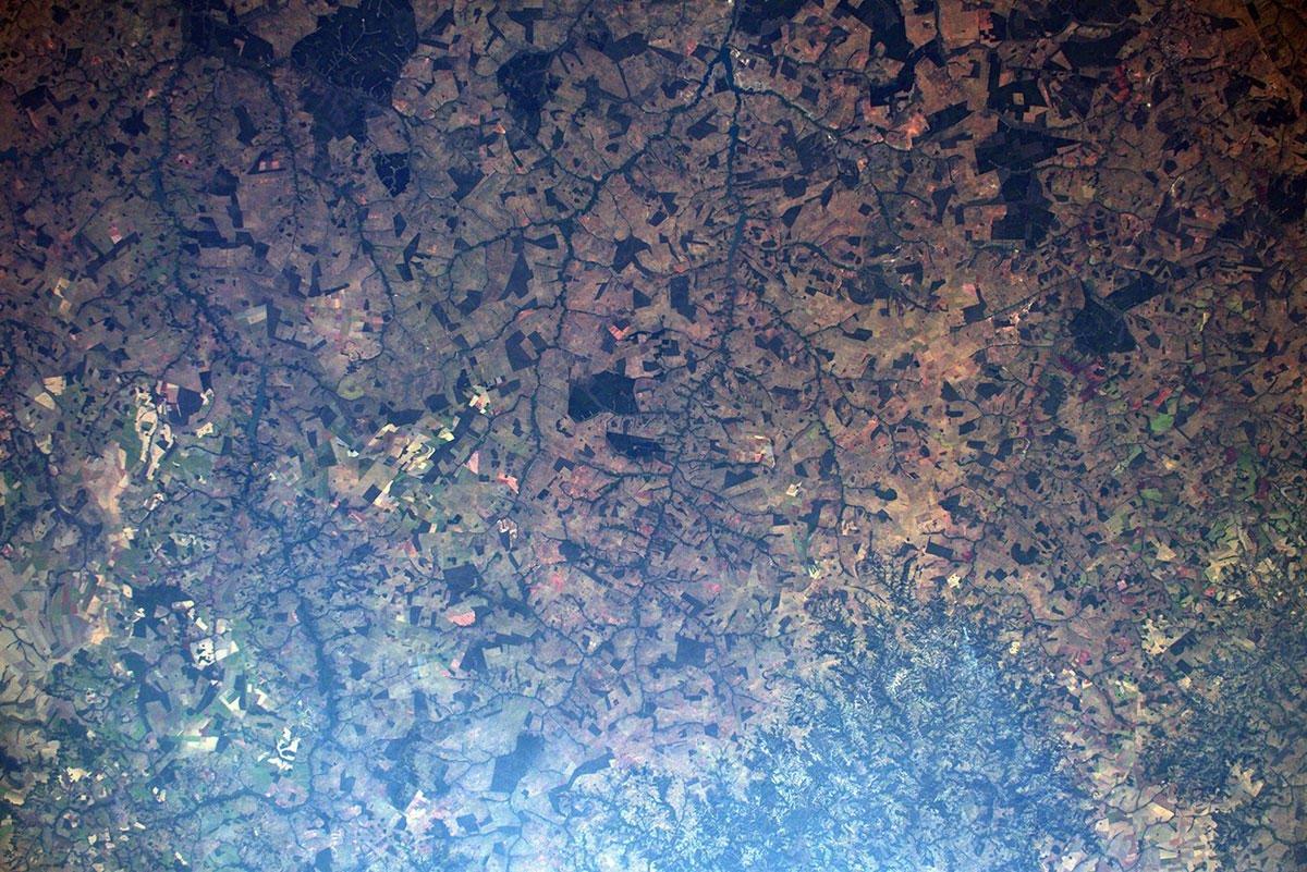 luca parmitano incendi amazzonia