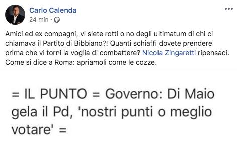 post Calenda