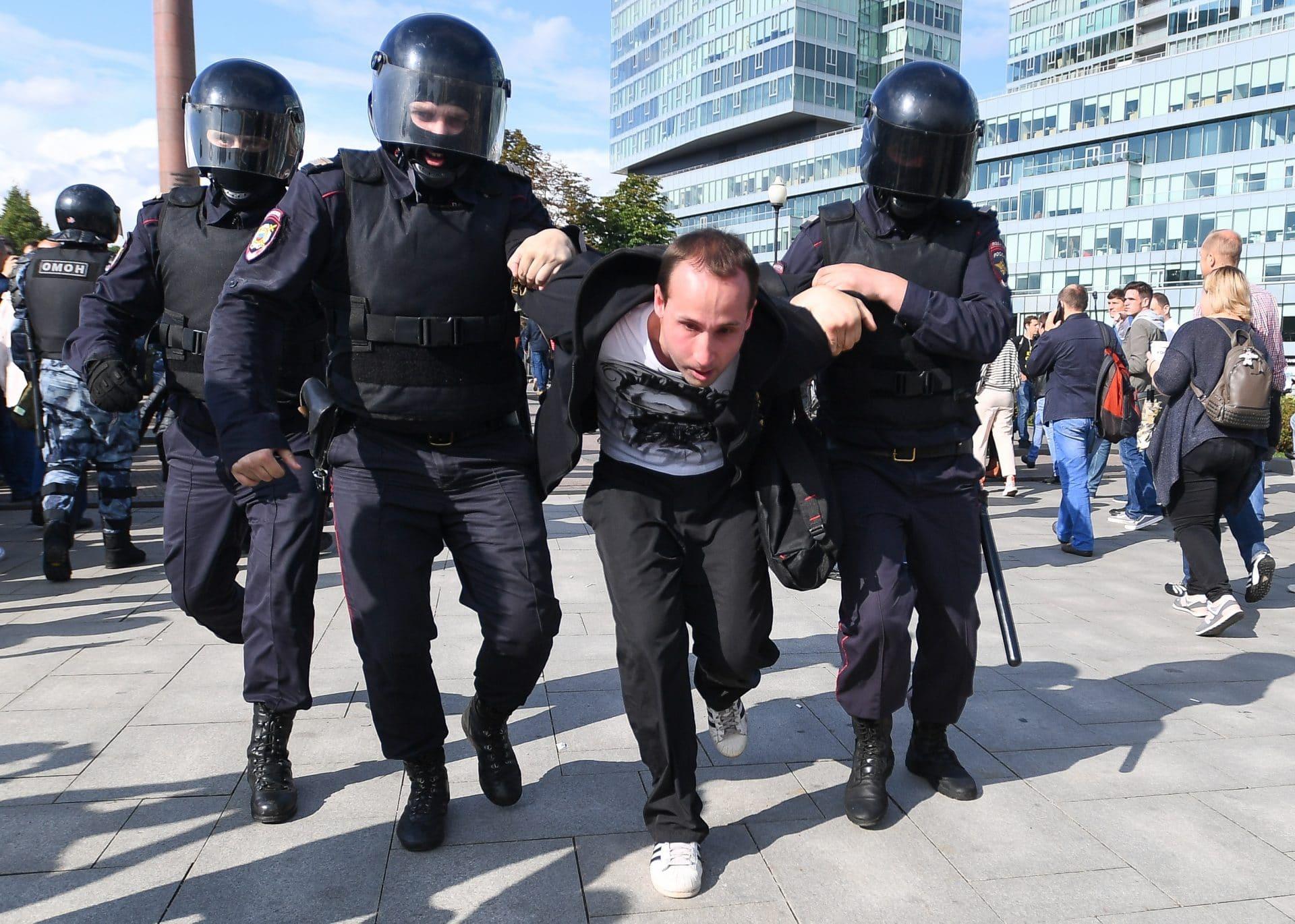 russia proteste putin
