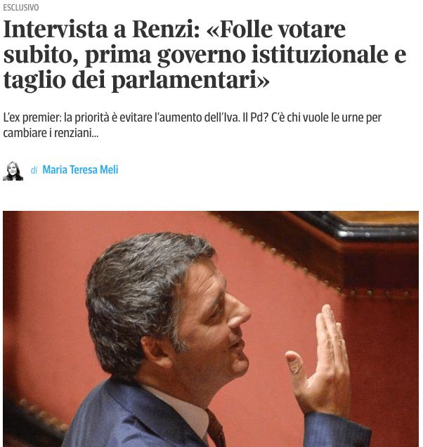 crisi di governo