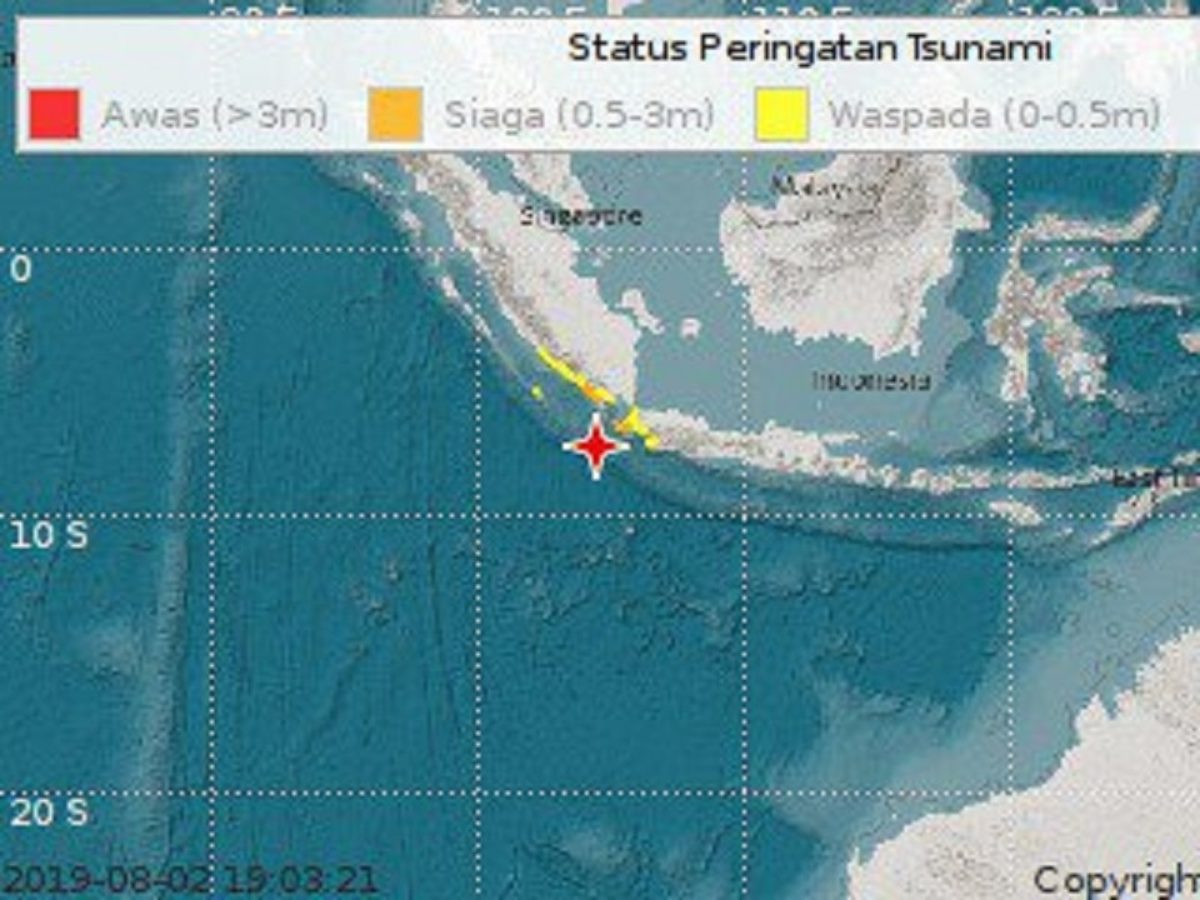 Terremoto in Indonesia, allerta tsunami