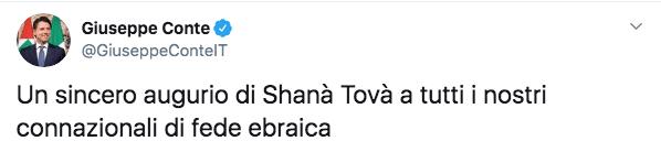 conte commenti antisemiti