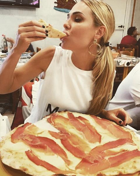 ilary blasi pizza rigenera