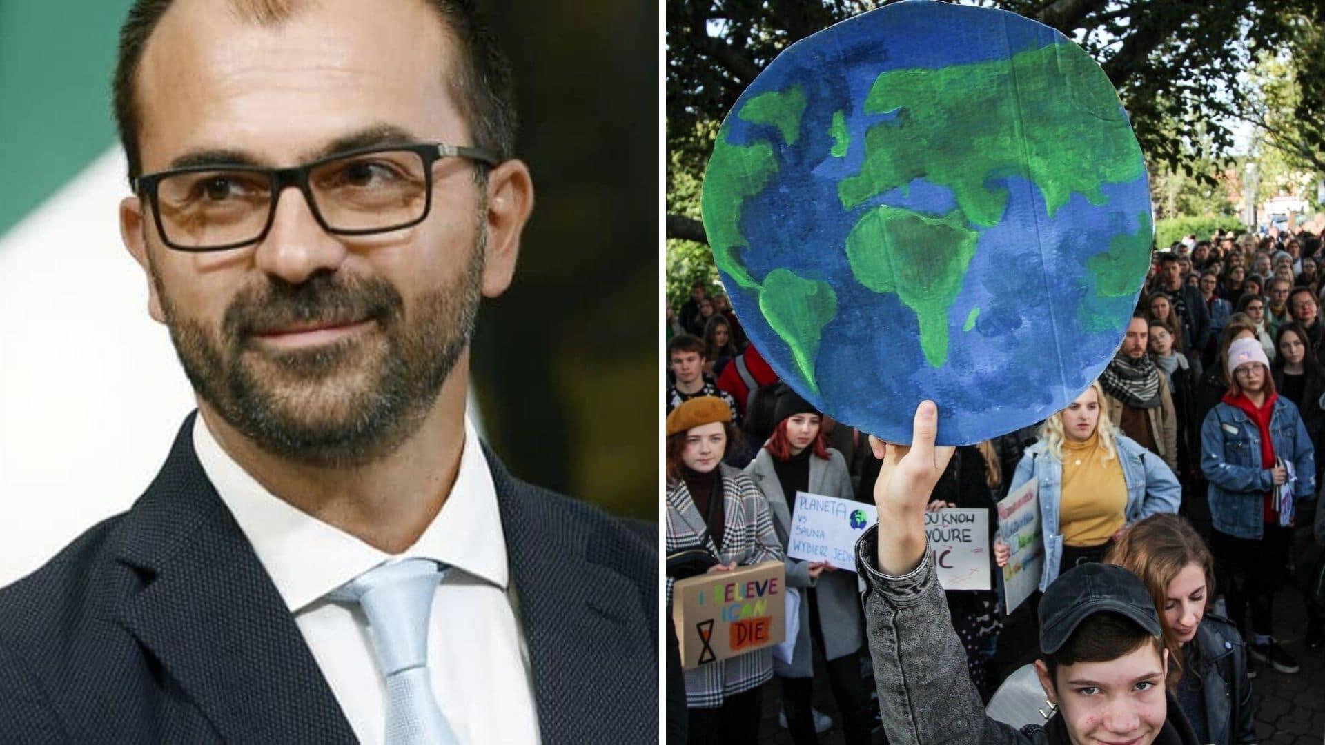 Ministro Fioramonti: giustificare assenze studenti per sciopero clima