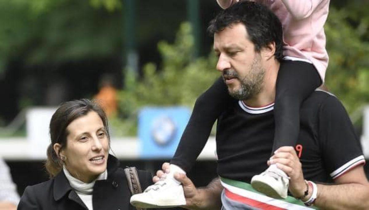 La lettera di Giulia, mamma della figlia di Salvini: