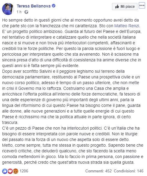 bellanova renzi pd