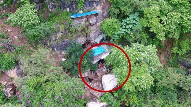 fuggitivo grotta