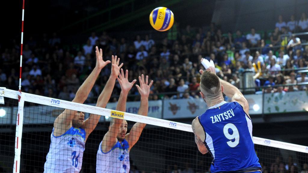 italia grecia volley maschile in tv