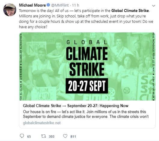 settimana clima sciopero globale