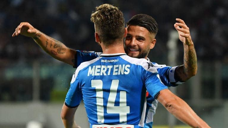 Napoli Brescia streaming
