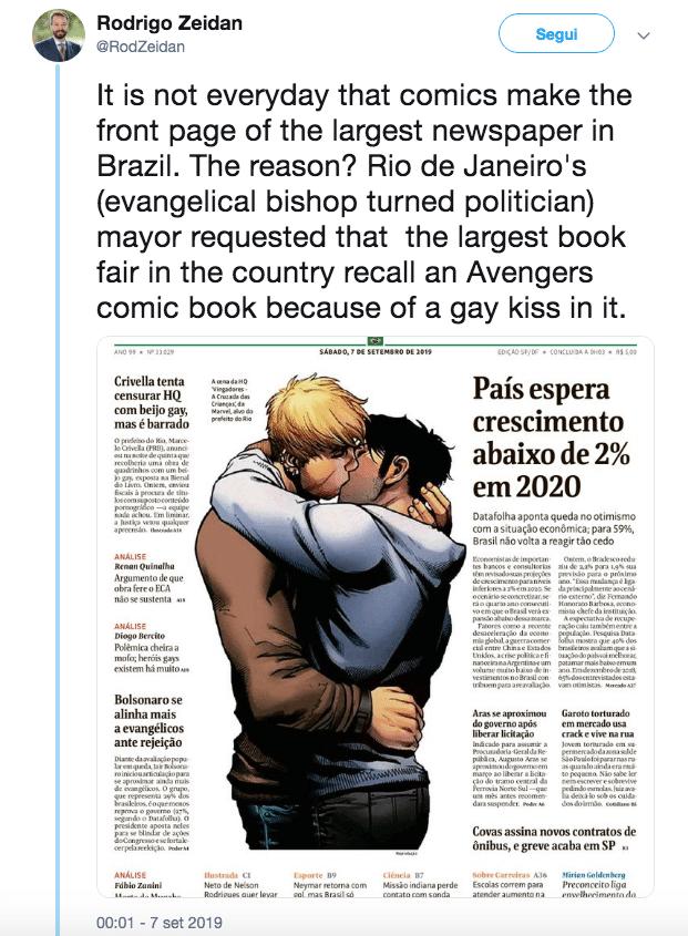 supereroi marvel bacio gay