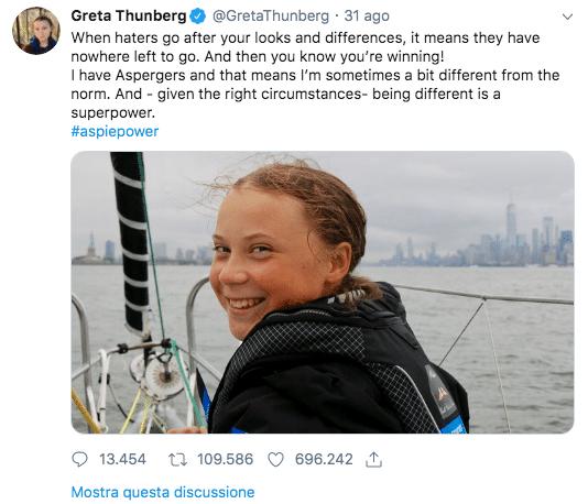 tweet greta thunberg