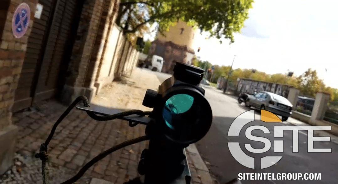 video attentato halle