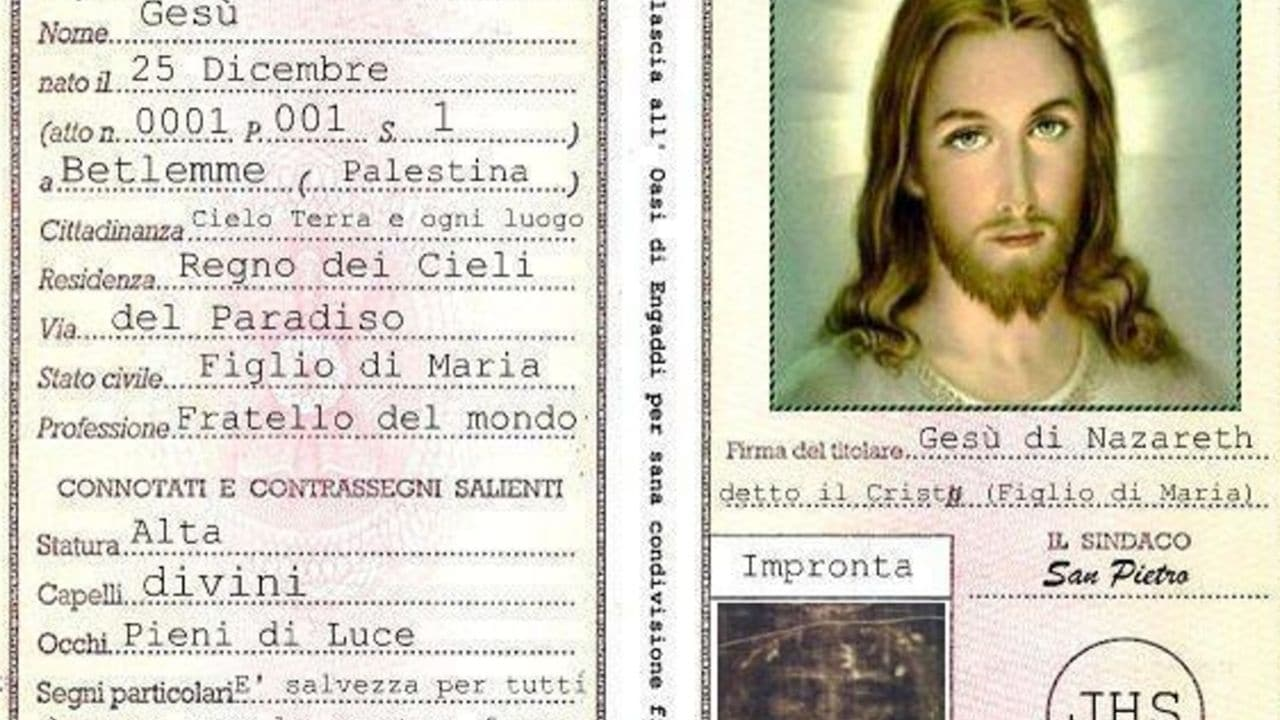 Radio Maria pubblica la carta d'identità di Gesù: bufera sui social
