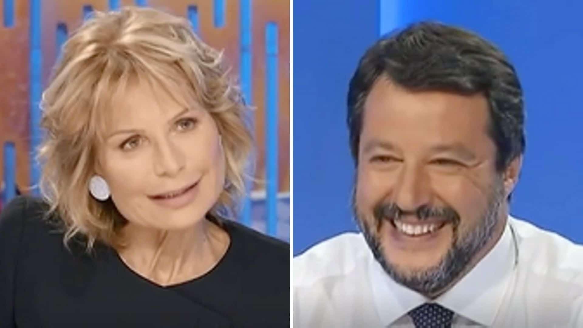 Dalla Chiesa contro Lilli Gruber: la frecciatina a Salvini