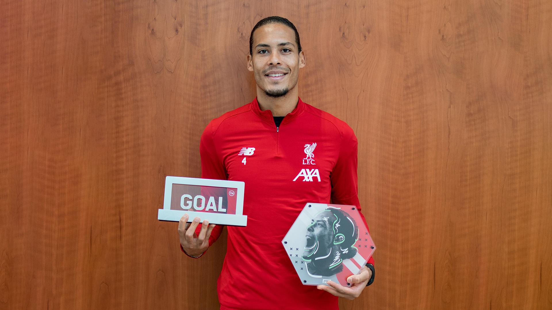 Virgil van Dijk Goal 50