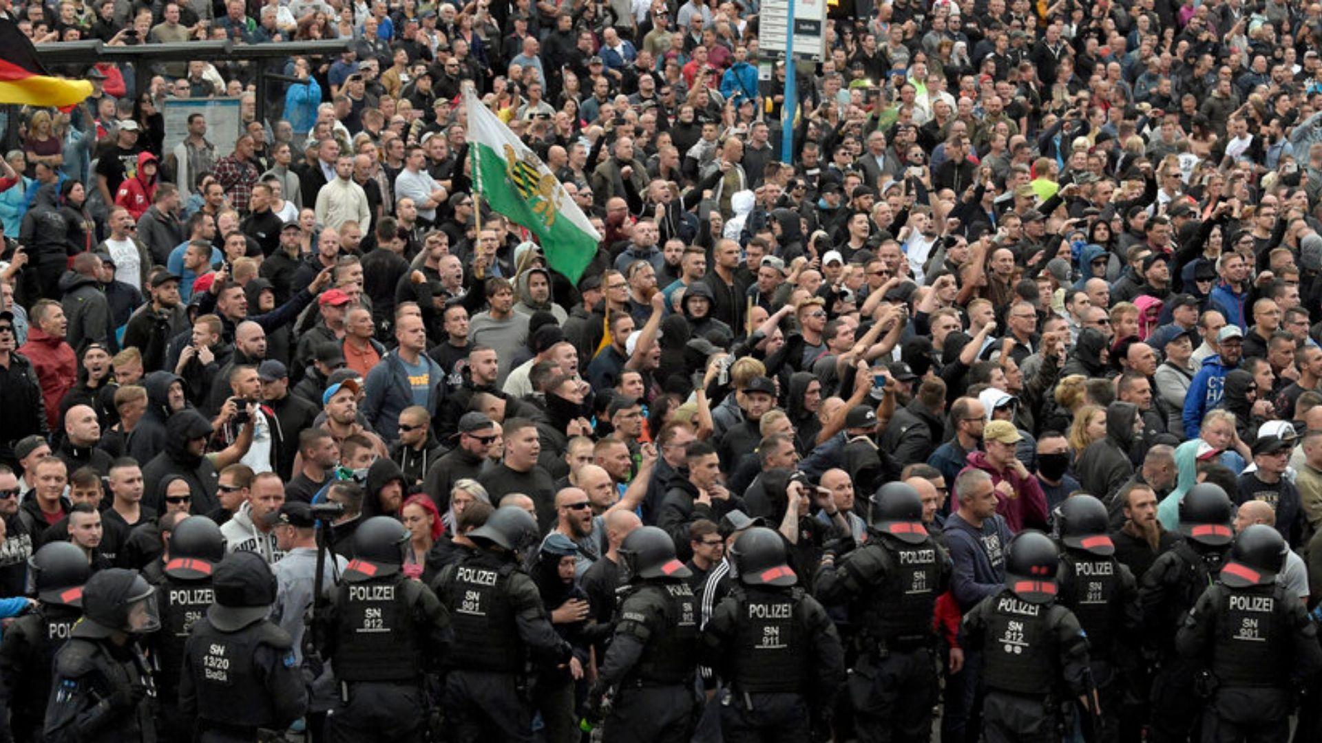 Germania, Dresda proclama lo