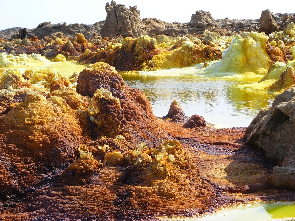 etiopia luogo inospitale vulcano