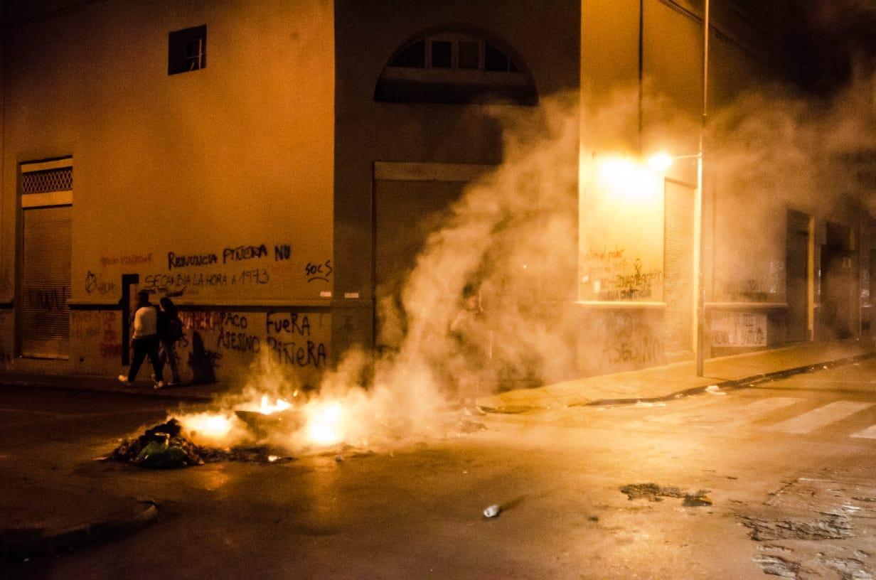 proteste cile violenze