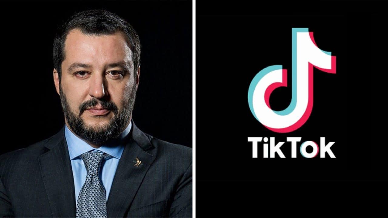 Salvini ha aperto un profilo ufficiale anche su TikTok, con due video