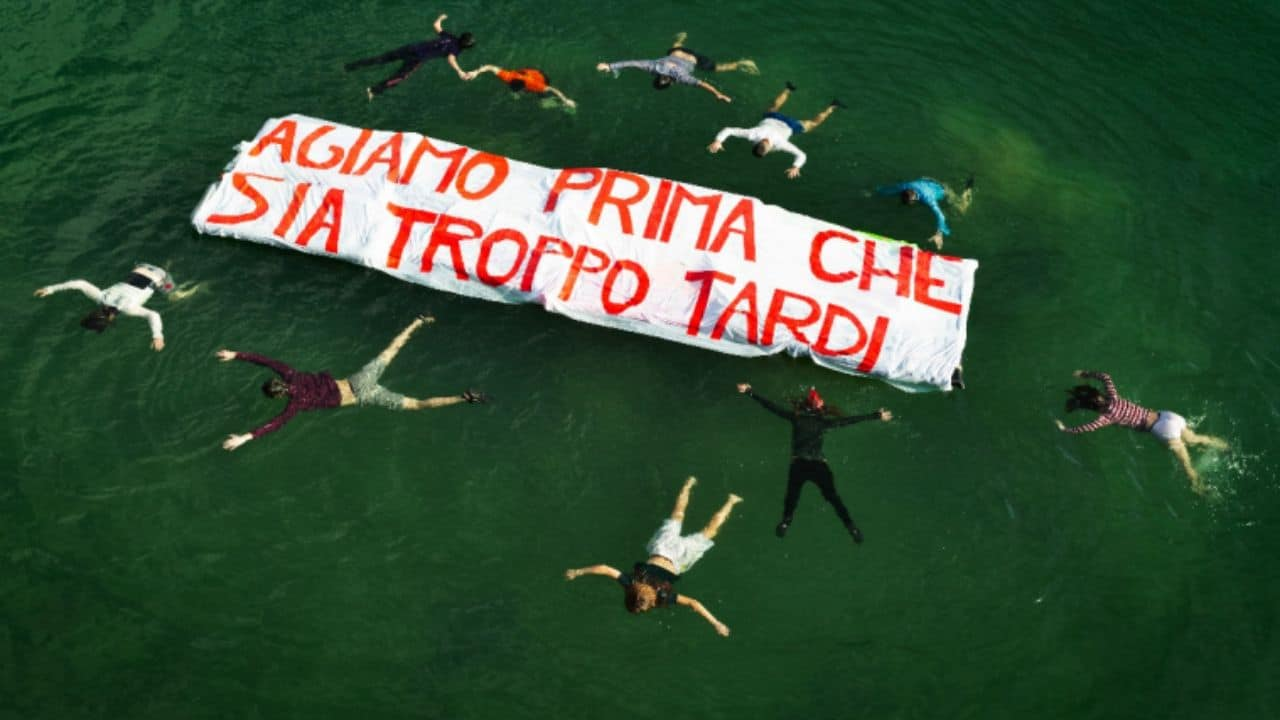 Extinction Rebellion protesta roma