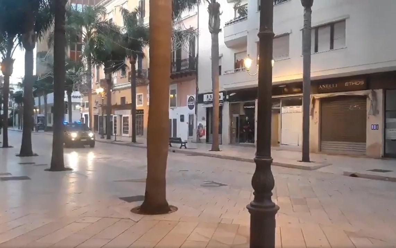 brindisi evacuazione bomba