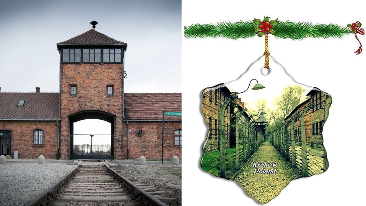 Amazon ritira le decorazioni natalizie a tema Auschwitz, il Memoriale: