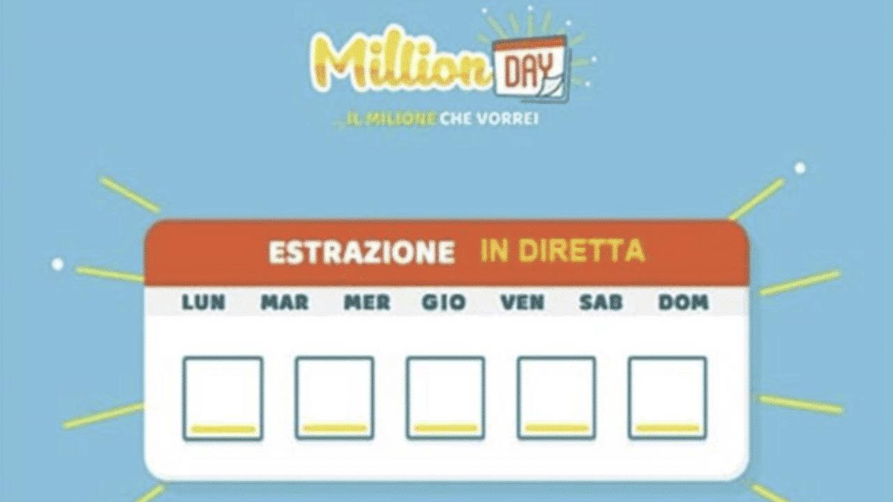 Estrazione Million Day di oggi, 15 dicembre 2019: i numeri v