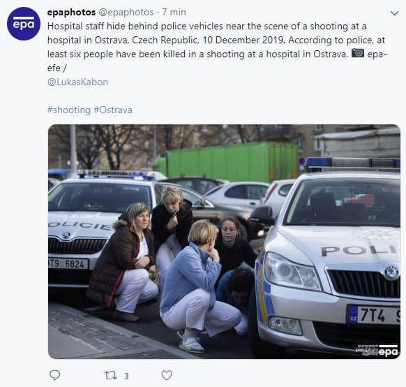 repubblica ceca sparatoria