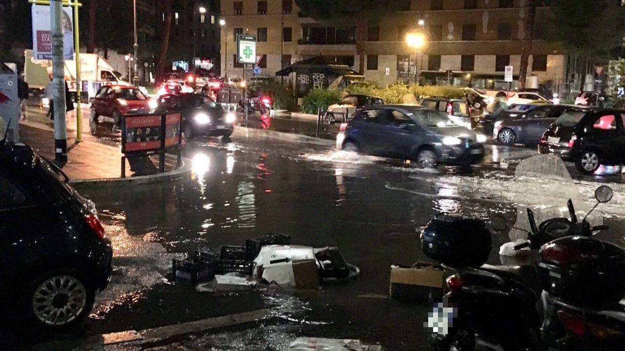 Roma Allagata 2 Dicembre