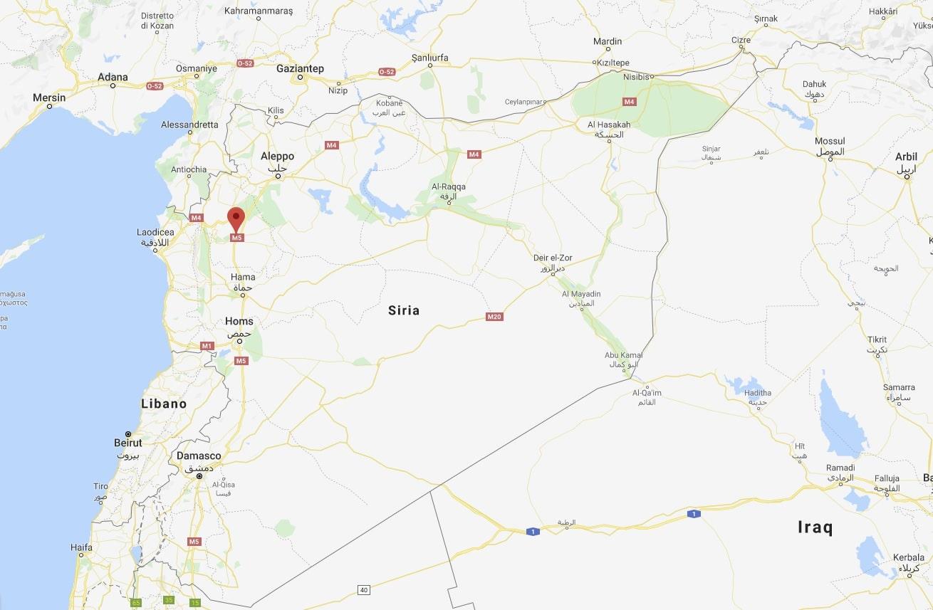 siria civili in fuga