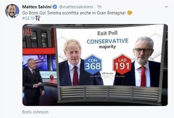 elezioni regno unito risultati