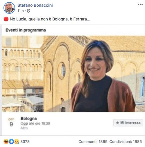 Borgonzoni ferrara bologna