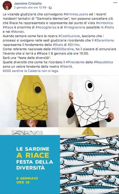 sardine riace