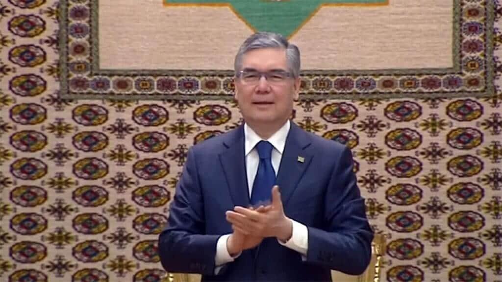 Turkmenistan presidente dj capodanno