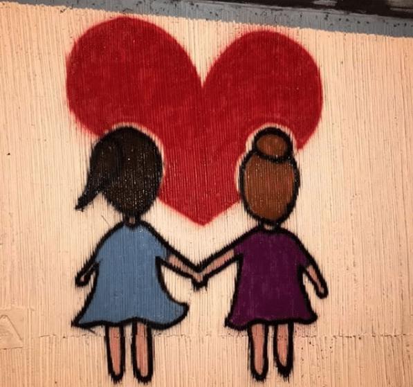 corso francia murale gaia camilla
