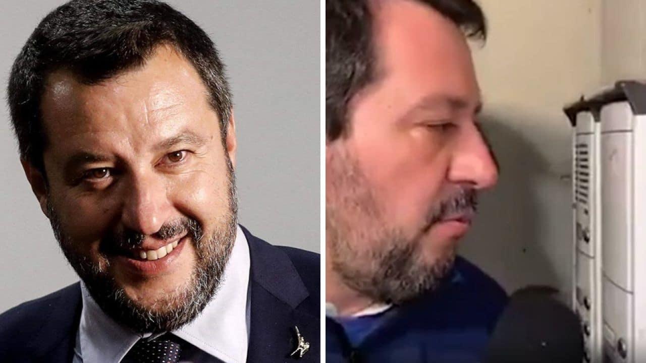 Salvini mette alla gogna i titolari di un negozio: