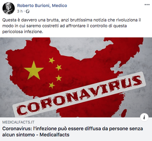 Coronavirus: alcuni pazienti non hanno sintomi - Ticinonline